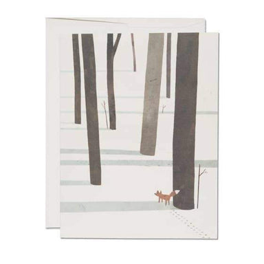Snow Fox Card - Urban Sprouts