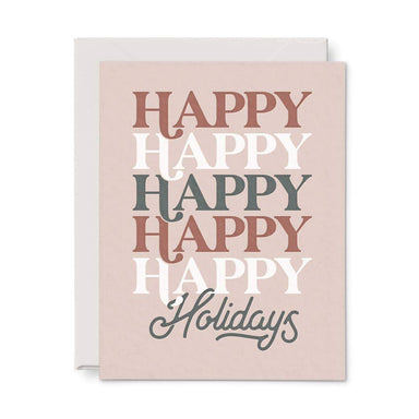 Happy Holidays Card - Urban Sprouts