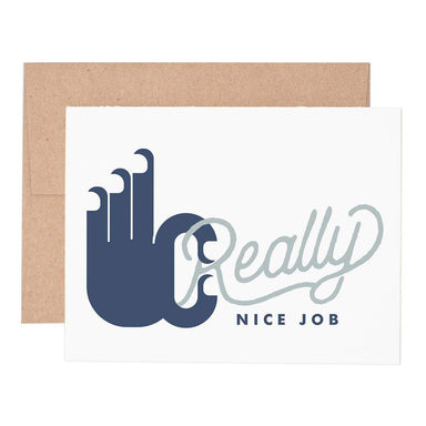 Really Nice Job Card - Urban Sprouts
