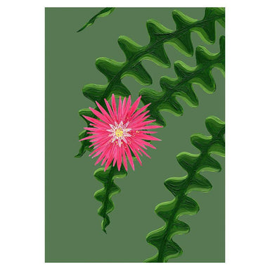 Fishbone Cactus Card - Urban Sprouts