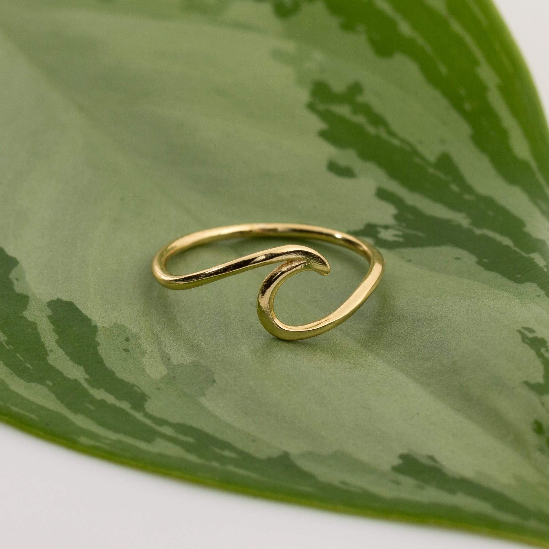 Subject 2 Change Ring 6 / Gold Wave Ring