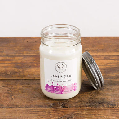 Lavender Soy Candle - Urban Sprouts