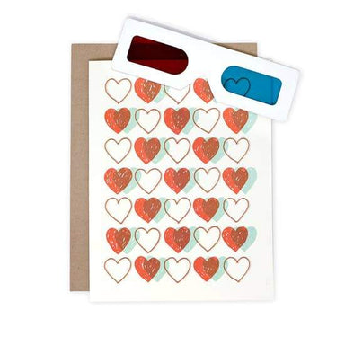 3D Heart Card - Urban Sprouts