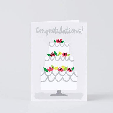 Congratulations Cake Card - Urban Sprouts