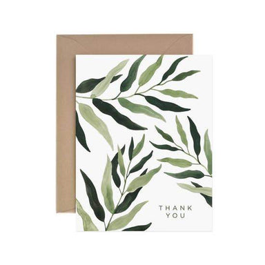 Eucalyptus Thank You Card - Urban Sprouts
