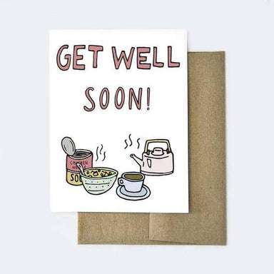 Get Well Soon Card - Urban Sprouts