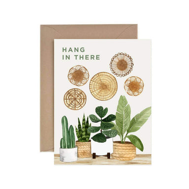 Hang In There Plants Card - Urban Sprouts