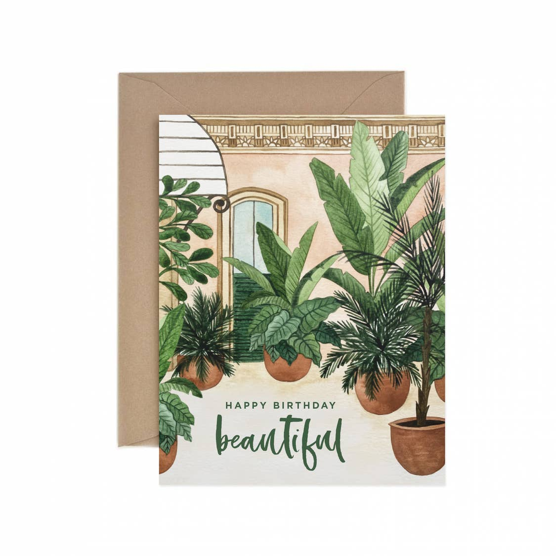 Happy Birthday Beautiful Card - Urban Sprouts