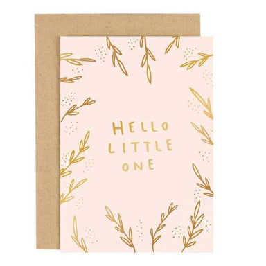 Hello Little One Card - Urban Sprouts