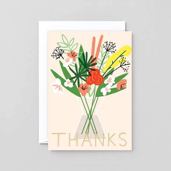 Thanks Card - Urban Sprouts