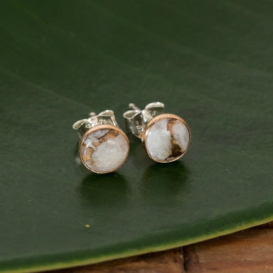 Copper Calcite Rounded Studs - Urban Sprouts