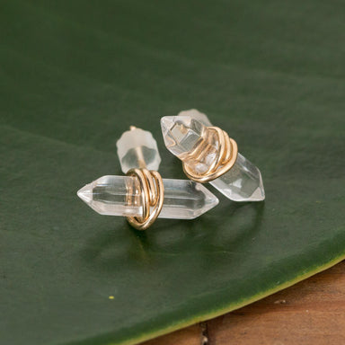 Quartz Bar Wrapped Studs - Urban Sprouts