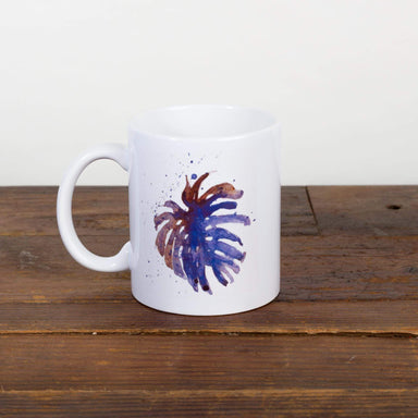 Galaxy Monstera Leaf Mug - Urban Sprouts