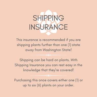 Shipping Insurance - Urban Sprouts