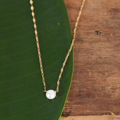 Dainty Pearl Necklace - Urban Sprouts