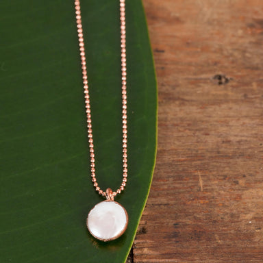 Raw Pearl Copper Pendant - Urban Sprouts