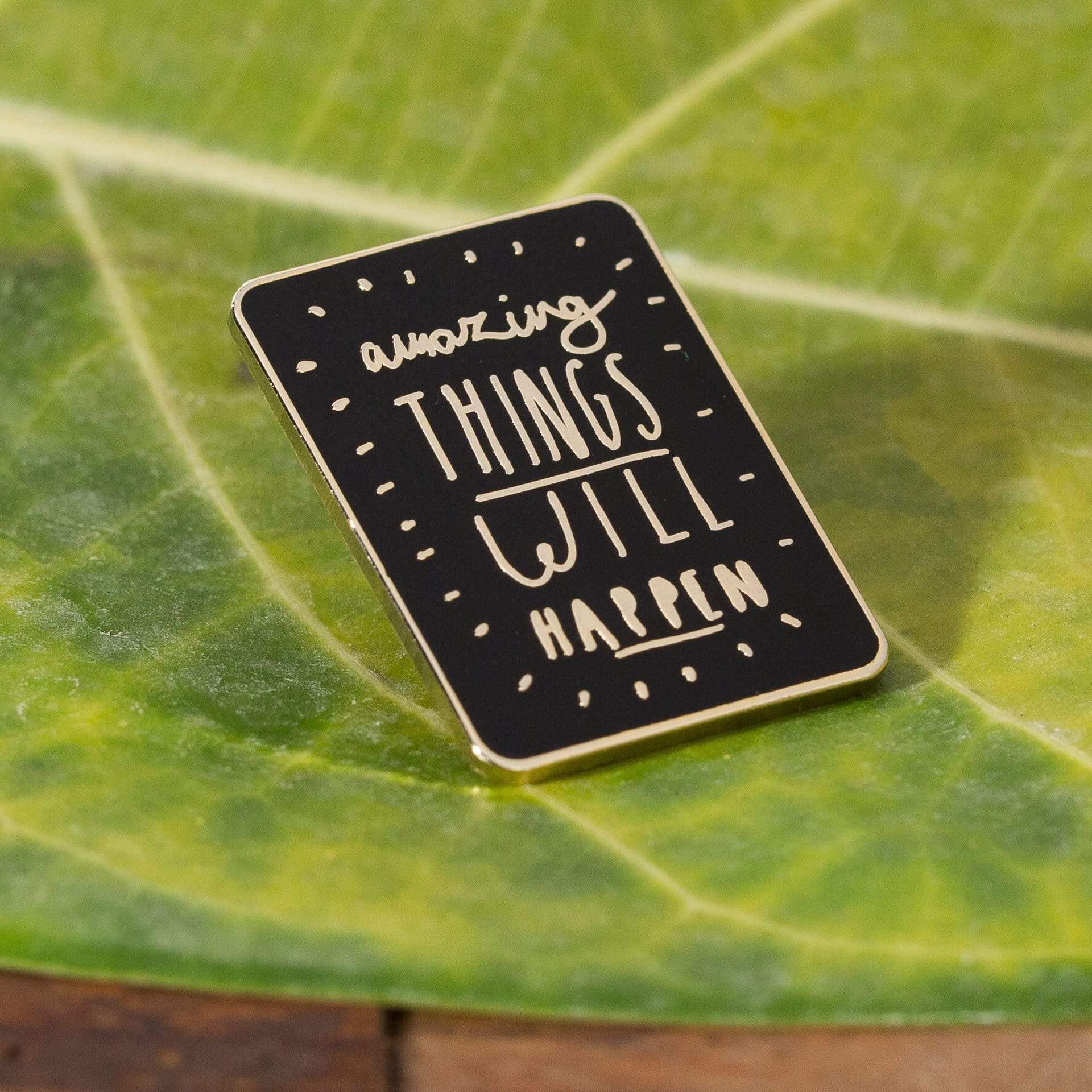 Amazing Things Will Happen Enamel Pin - Urban Sprouts