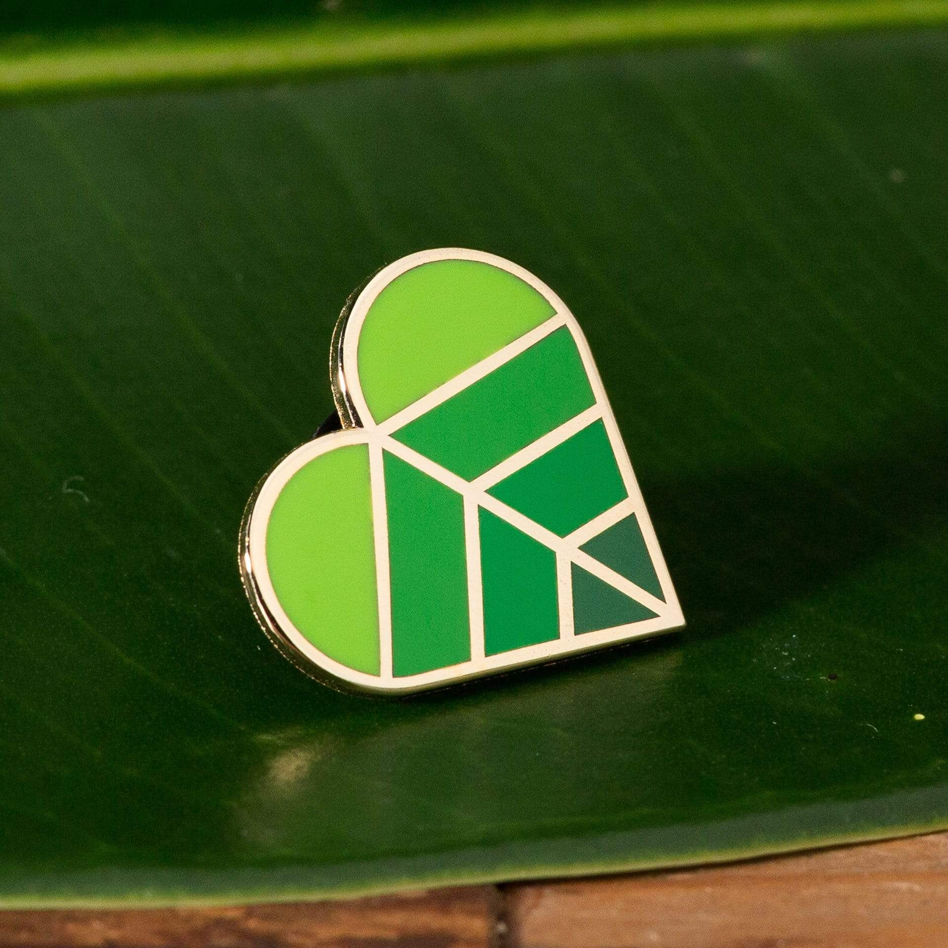 Leaf Love Enamel Pin - Urban Sprouts