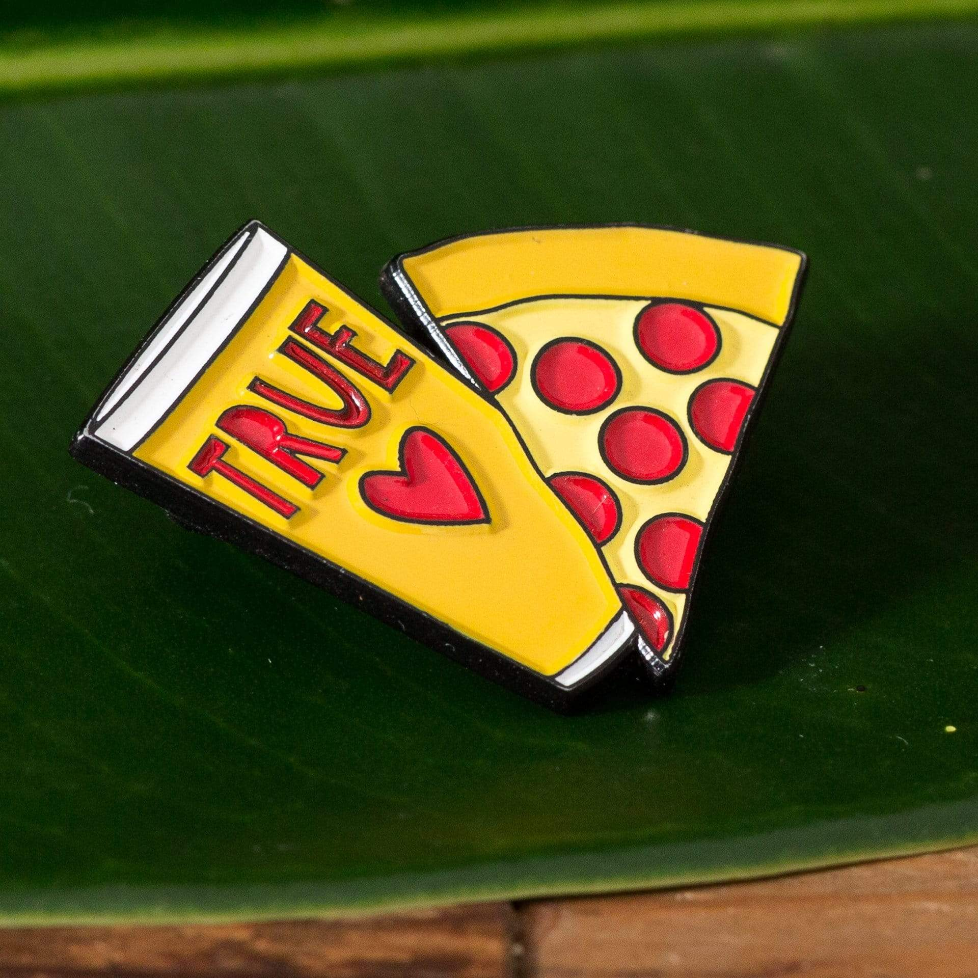 Pizza and Beer Enamel Pin - Urban Sprouts