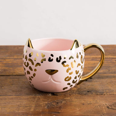 Pink Leopard Mug - Urban Sprouts