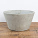 "Cement Angled Bowl Planter 10"" - Urban Sprouts"