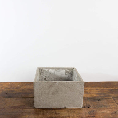 "Concrete Cube Planter 7"" - Urban Sprouts"