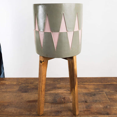 Art Deco Triangle Stilted Planter - Urban Sprouts