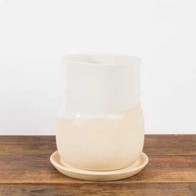 Cream Vase Planter - Urban Sprouts