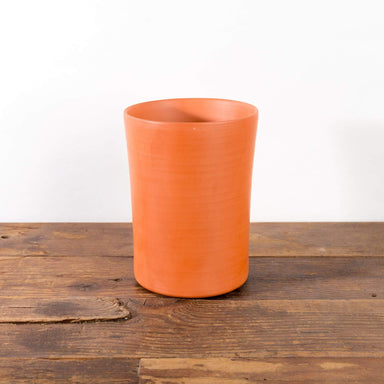 "Elongated Clay Cylinder Planter 5"" - Urban Sprouts"