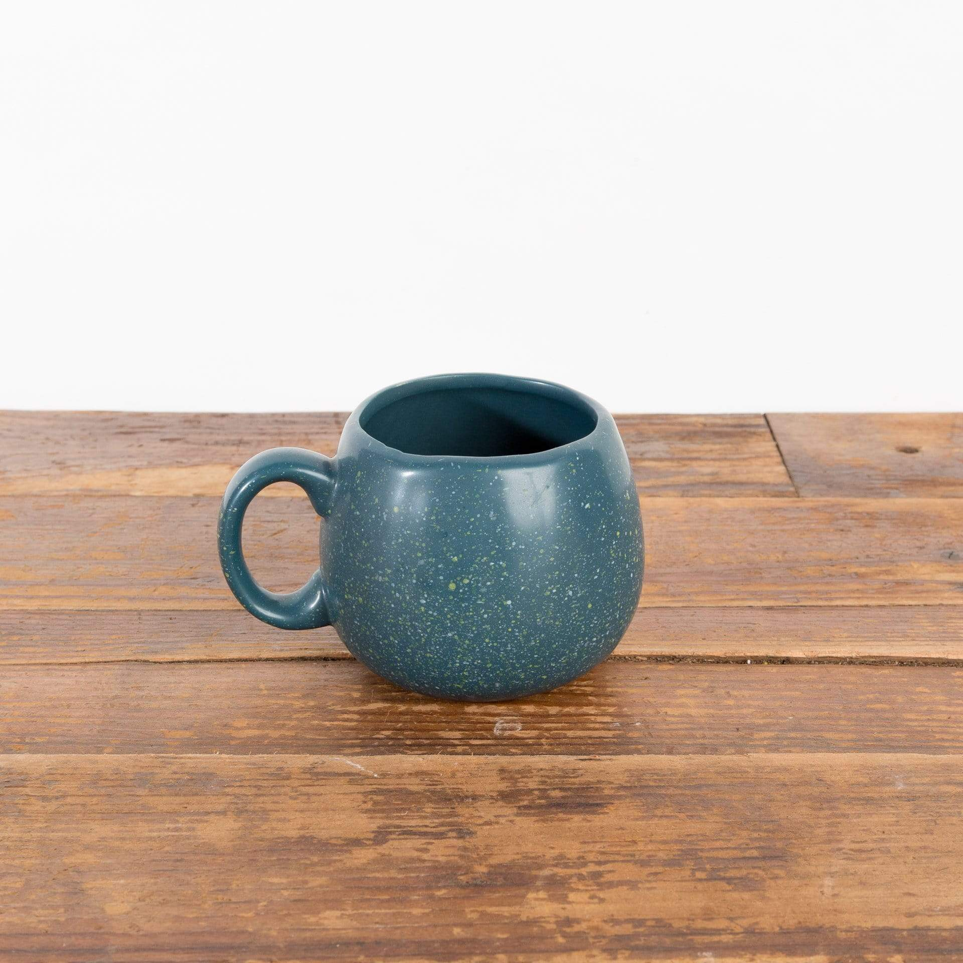 Navy Speckled Mug Planter - Urban Sprouts