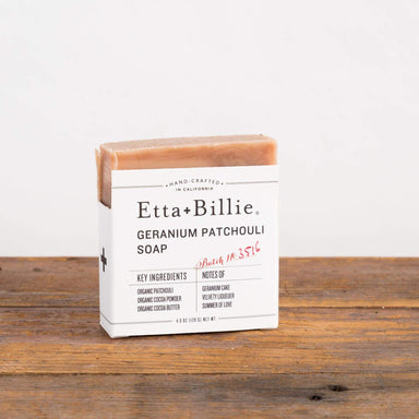 Geranium Patchouli Bar Soap - Urban Sprouts