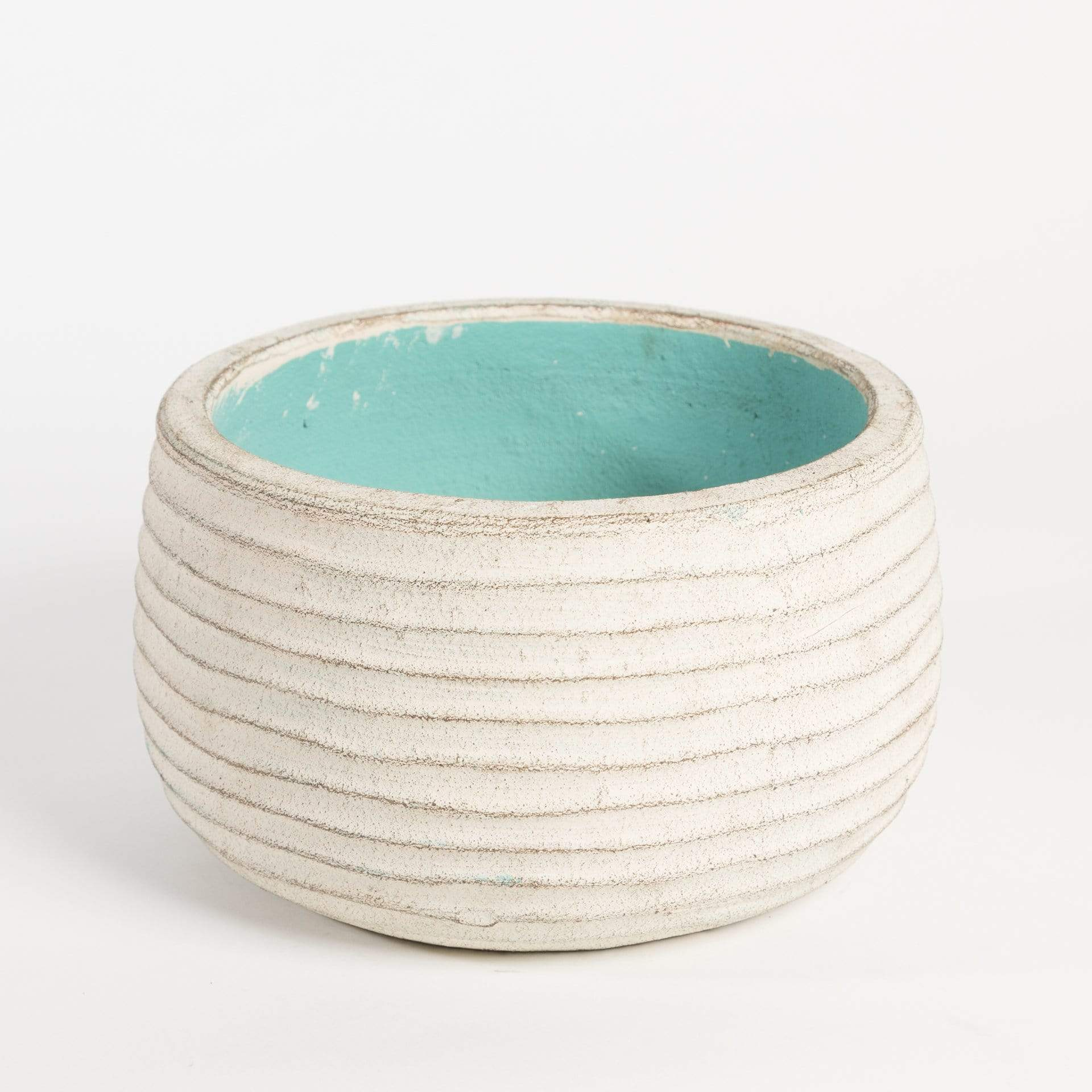 Ribbed Bowl Planter - Urban Sprouts