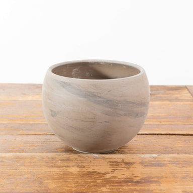 Marbled Clay Sphere Planter - Urban Sprouts
