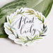 Wildflower Paper Company Sticker Plant Lady Wreath Sticker