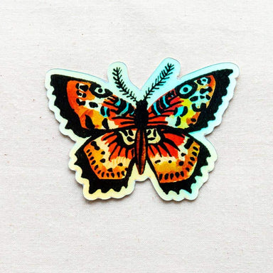 Holographic Butterfly Animal Vinyl Sticker - Urban Sprouts