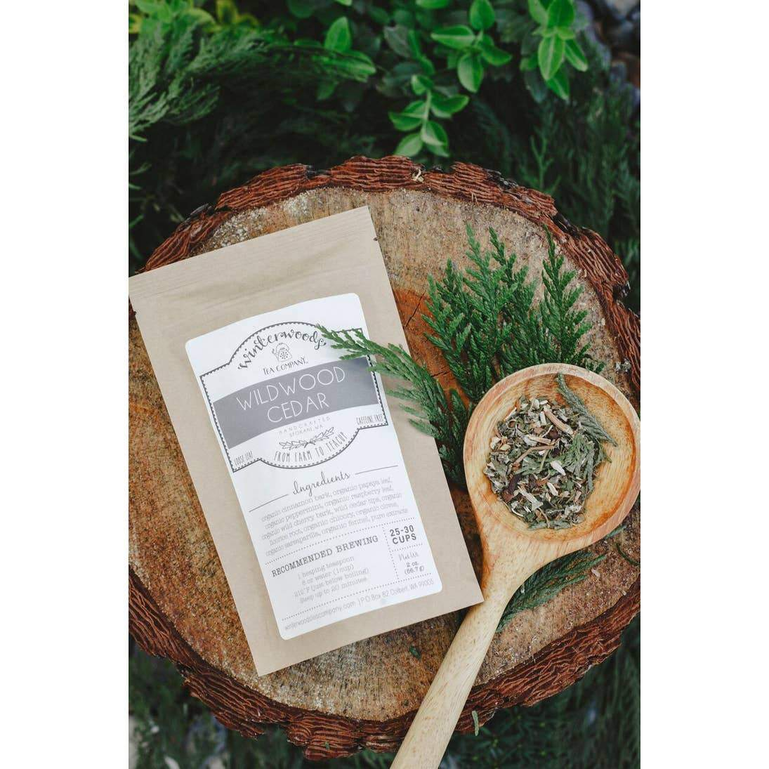 Tea - Wildwood Cedar Herbal Blend - Urban Sprouts