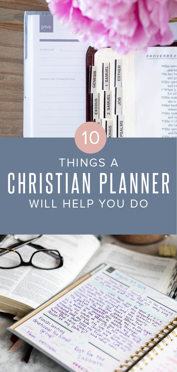 10 things a Christian planner will help you do