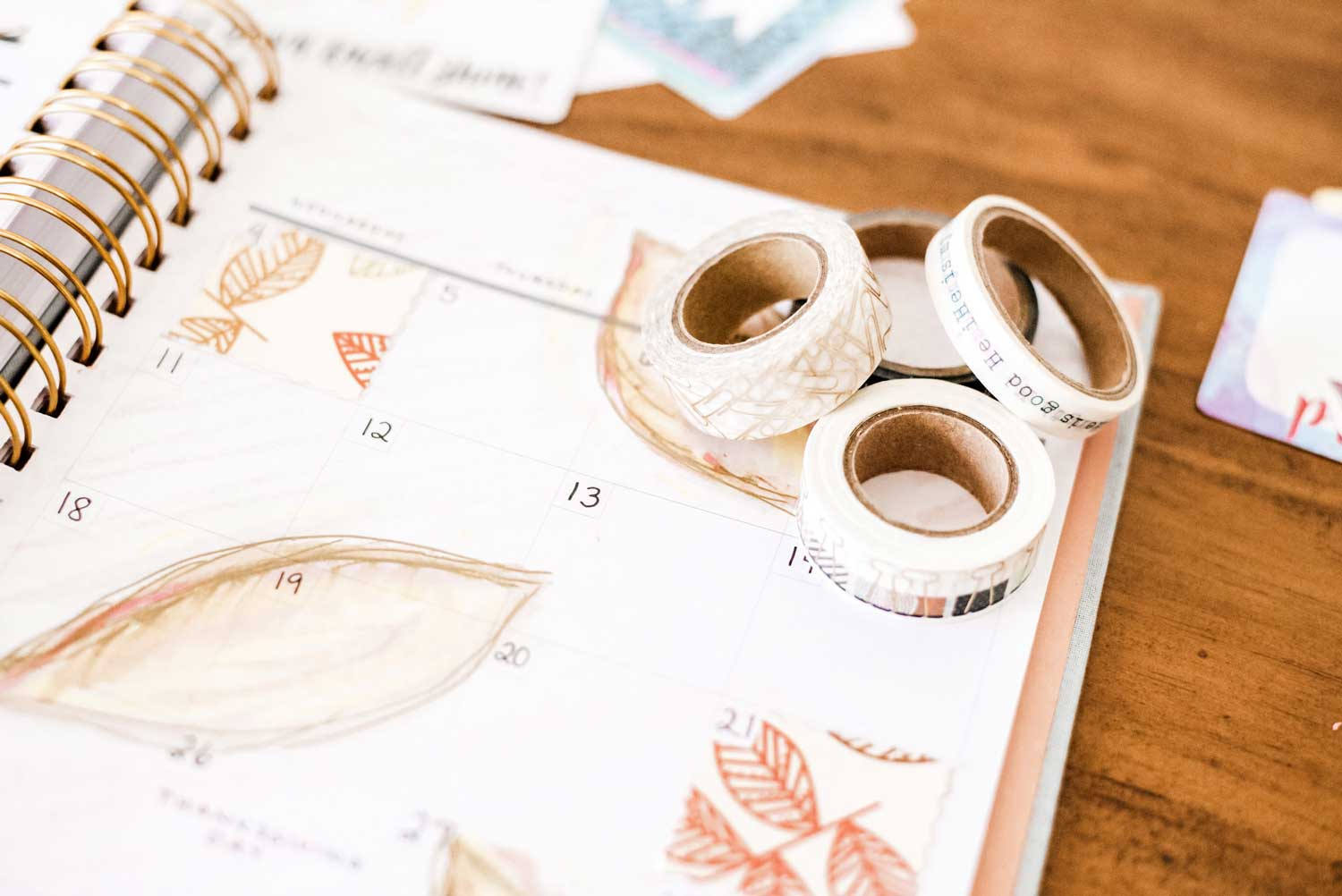 planner washi tape