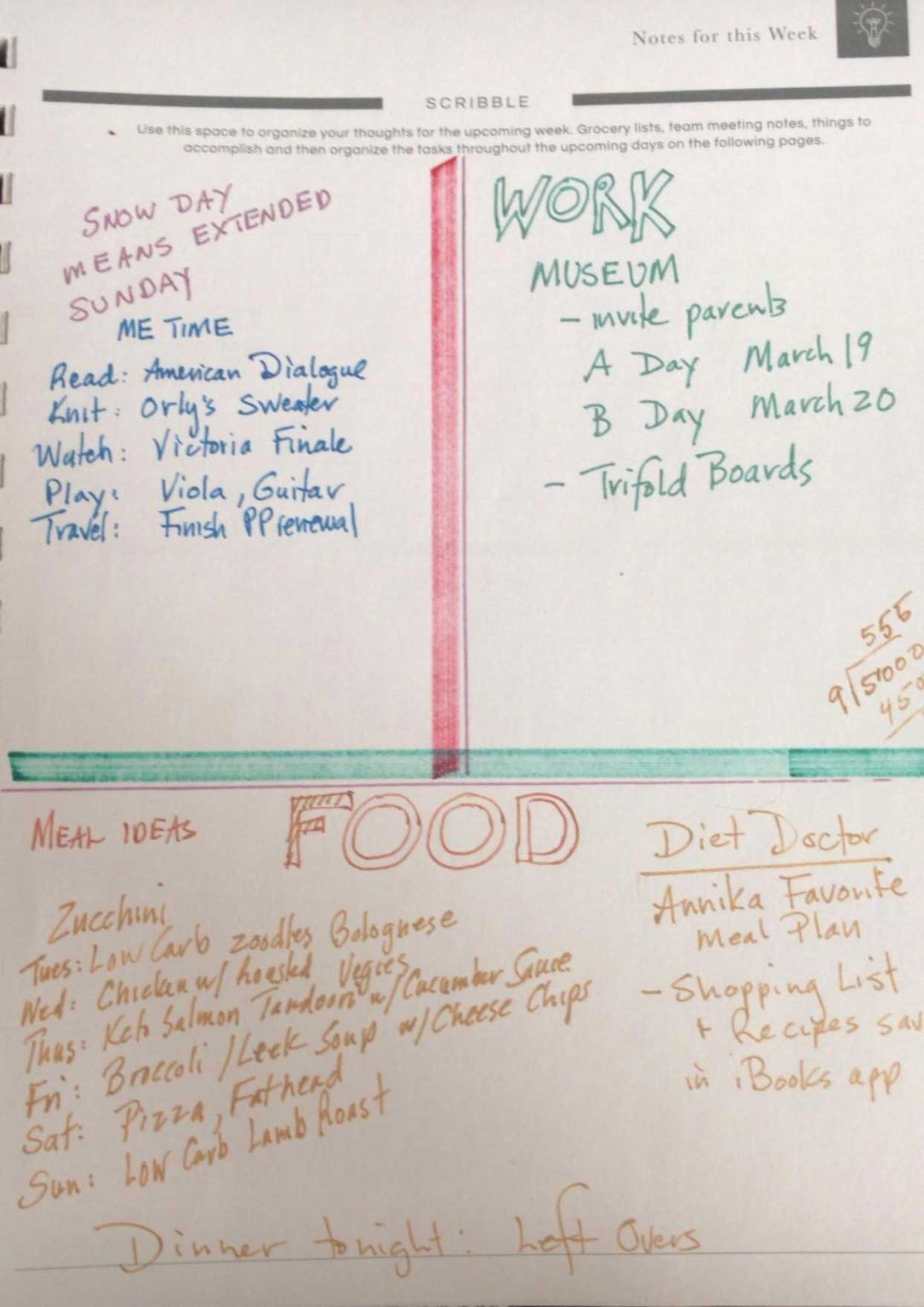 prayer planner pages