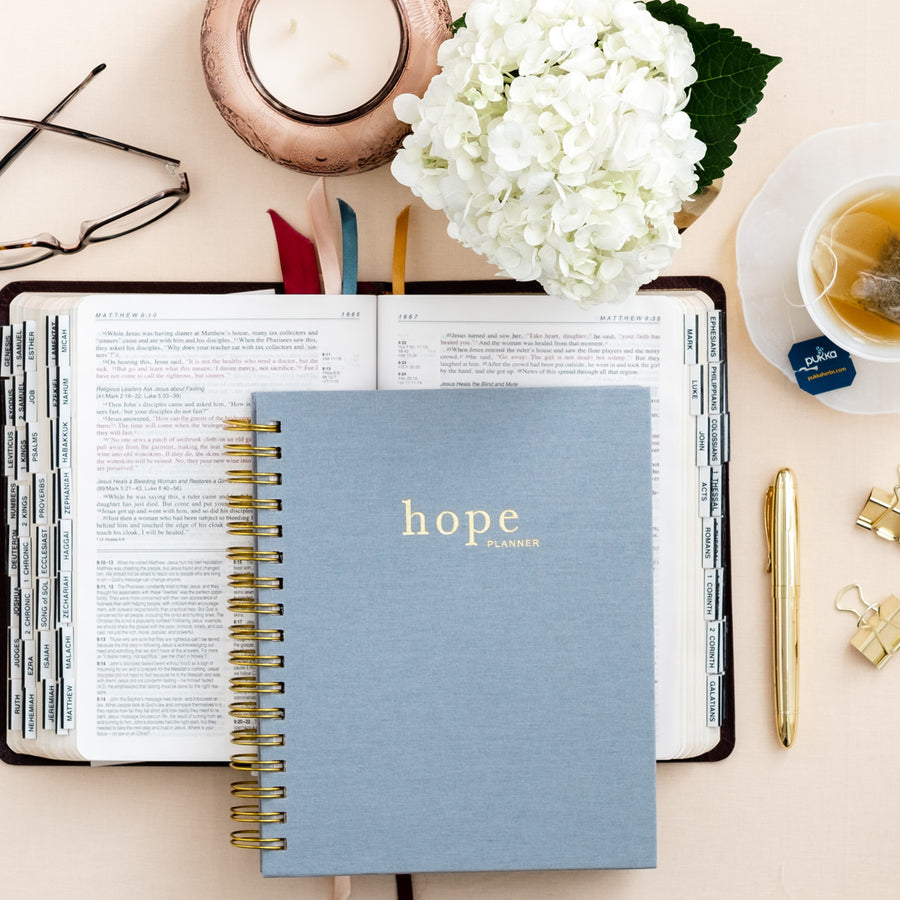 christian planner, the hope planner