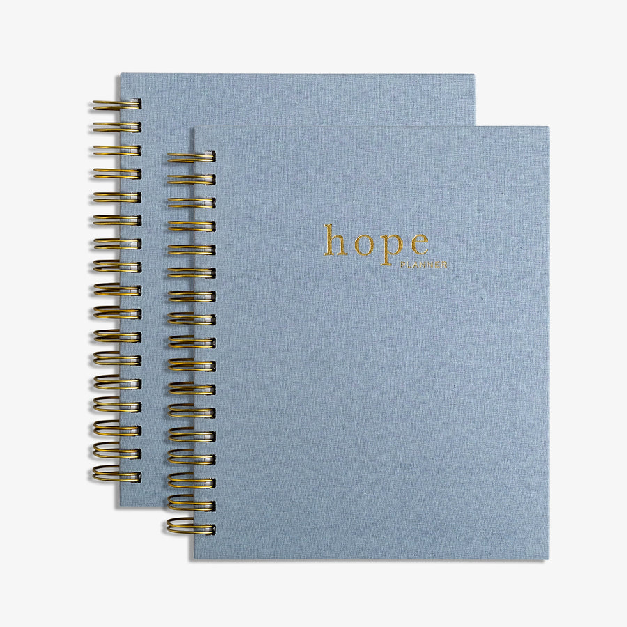 christian planner and prayer journal, the hope planner