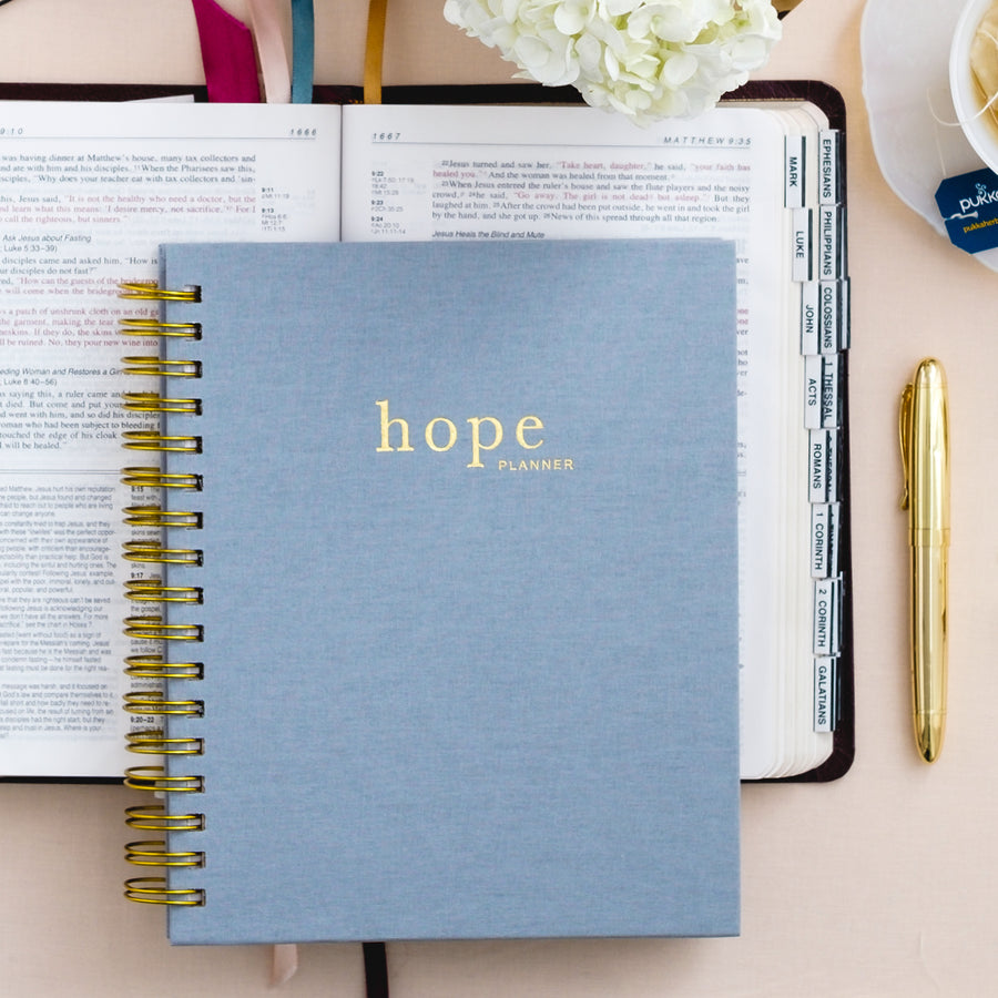 Devotional Planner for Christian Women, Hope Planner