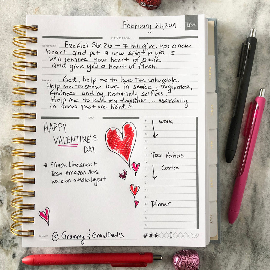 daily planner for christian women