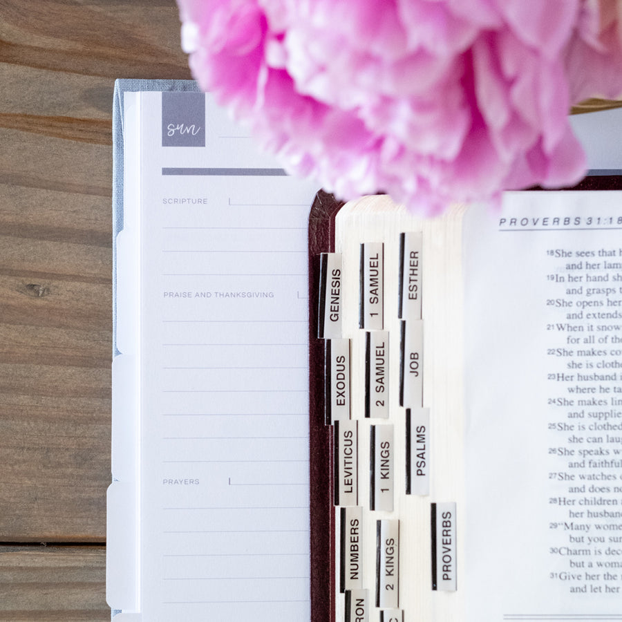 prayer journal and planner