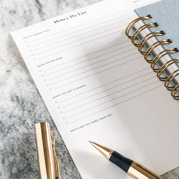 Planner Printable: Honey Do List