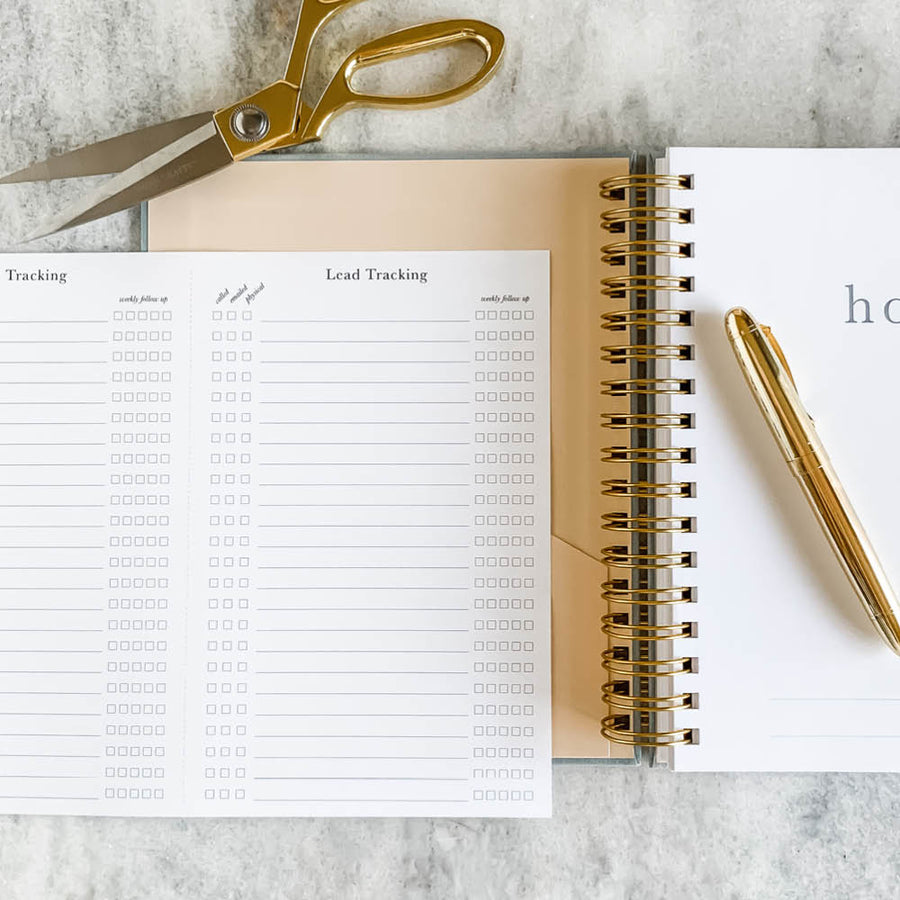 Planner Printable:  Lead Tracking