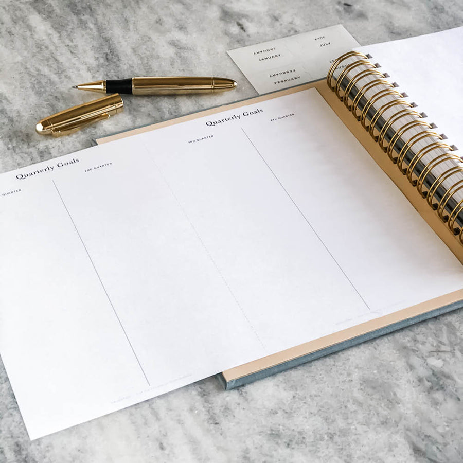 Planner Printable: Quarterly Goals