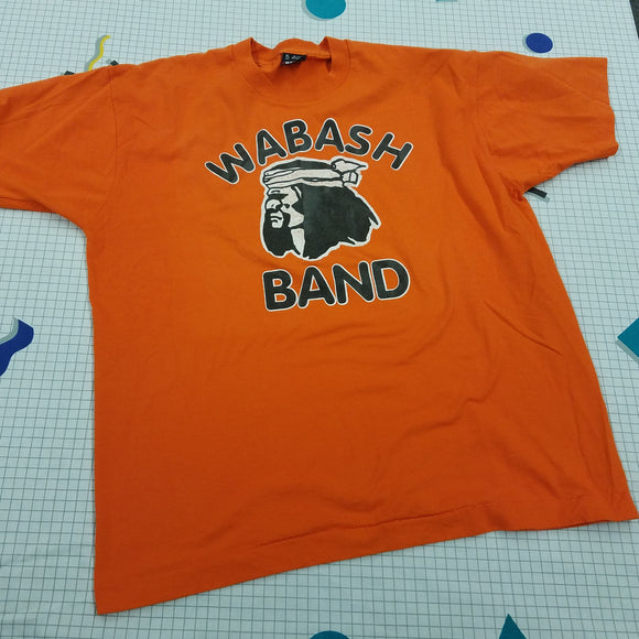 Vintage 90s Wabash High School Band