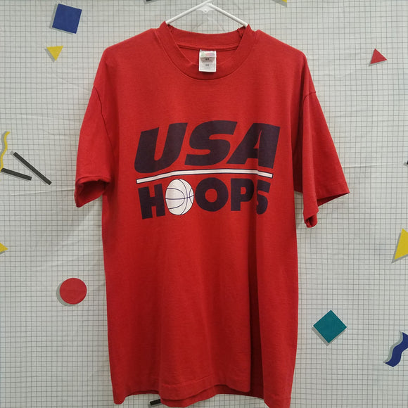 1990s USA Hoops Shirt Size L