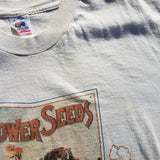 Single Stitch Flower Seeds Indiana Shirt Size Mens L